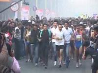 News video: Celebrities run for underprivileged children